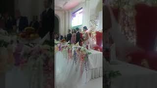 Казахская свадьба под гимн мадридского