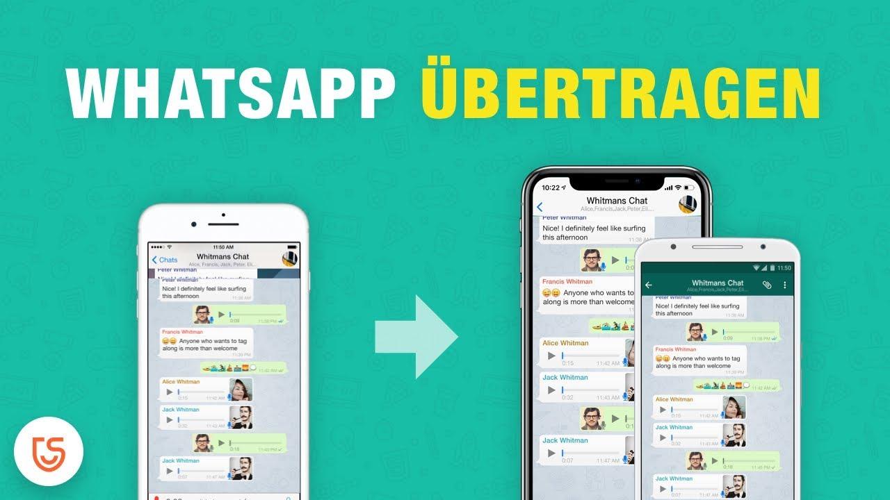 Whatsapp Daten Von Android Auf Iphone