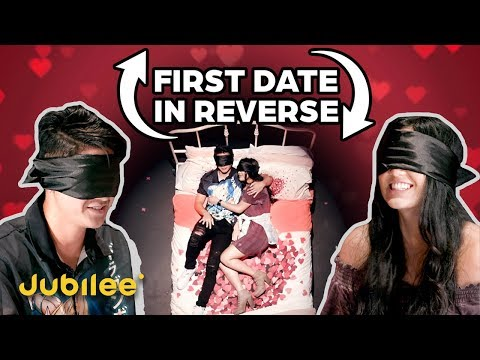 Would You Kiss and Cuddle A Stranger Blindfolded?