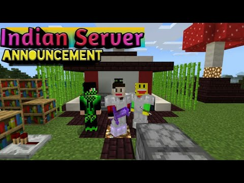 Full Details About Indian Pros Public Survival Server For Minecraft Pe Bedrock Mcpehindi Vps And Vpn