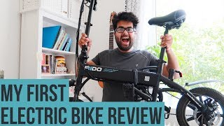 My NEW super compact ELECTRIC BIKE: Detailed Review|| FIIDO D1 E-bike