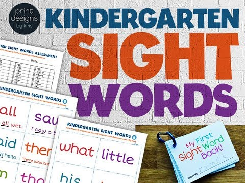 How to Teach a Child Early Sight Word Skills at Home.Teaching Your Child Early Sight Word Skills