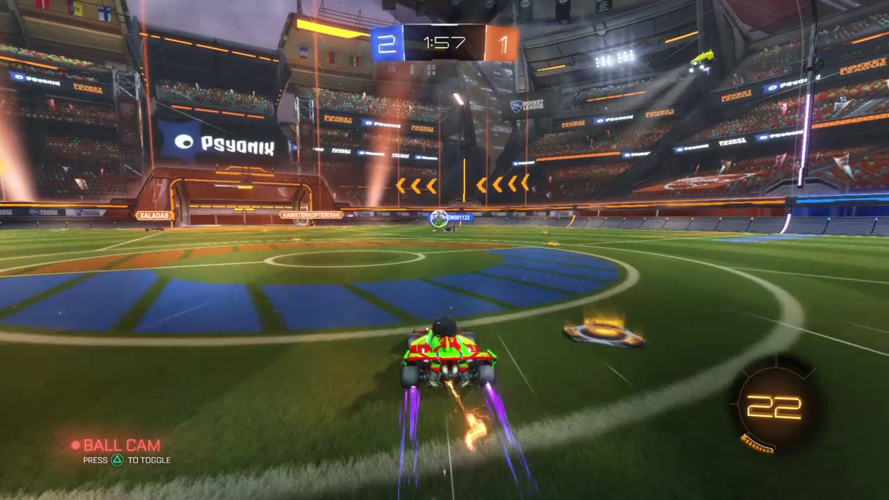 Rocket League Playing Standard 3v3 On Champions Field Gameplay 2 Youtube