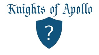 OFFICIAL COAT OF ARMS OF KNIGHTS OF APOLLO - T-shirts
