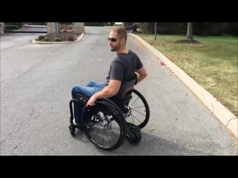SmartDrive Power Assist for Manual Wheelchairs