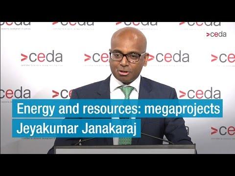 Adani Mining CEO, Jeyakumar Janakaraj, speaks to CEDA audience in Brisbane