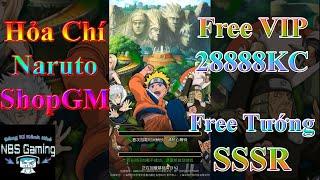 Game Mobile Private Hỏa Chí Naruto | ShopGM | Free VIP | 28888 Vàng