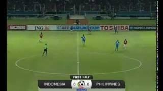 Indonesia vs Philippines 1 0 AFF Suzuki Cup 2010 Semi Final 2nd Leg