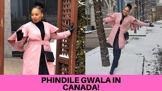 Uzalo : Phindile Gwala ( Gazet) Living Large In Canada