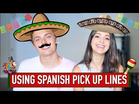 Funny mexican pick up lines in spanish for guys