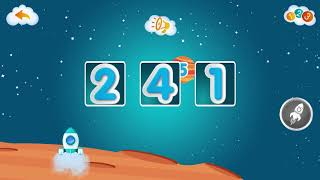 Учим цифры #4 - Развивающая игра для детей. Developmental game for children. Learning Numbers.