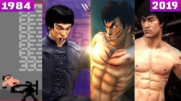 Evolution of Bruce Lee  in Games ( 1984-2019 )  & Characters Based on Bruce Lee  李小龙), 1984-2019