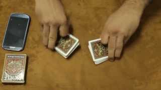 Magic Trick with smart phone !! ( performance )