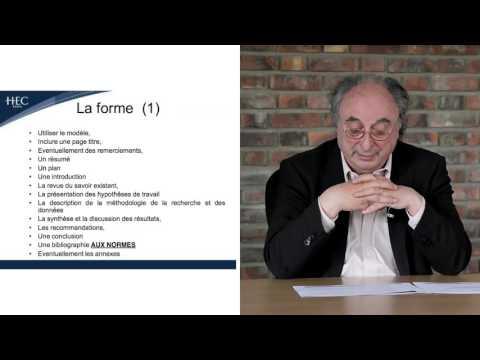 Méthodologie de thèse Mastère Marketing -  Laurent Maruani