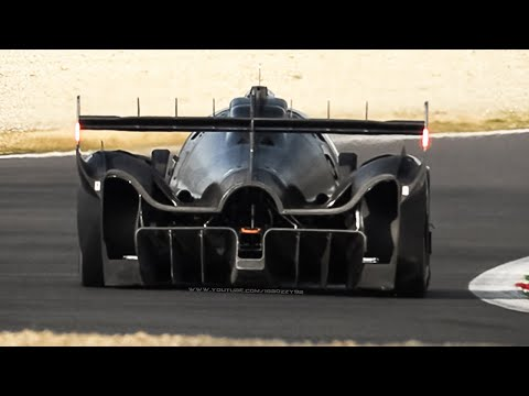 Glickenhaus 007 LMH (Le Mans Hypercar): 3.5L Twin-Turbo V8 Sound in Action at Monza!