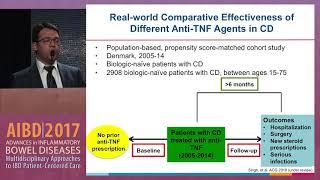 Use of anti-TNF therapies for Crohn's disease