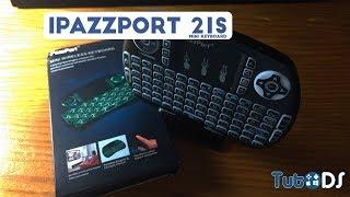 Mini Teclado iPazzPort 21S, o ideal para a tua TV Box