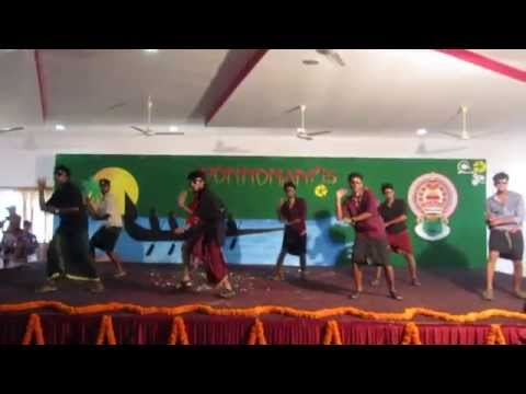 premam movie dance onam celebrations SDIT