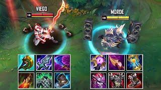 VIEGO vs MORDEKAISER FULL BUILD FIGHTS & Best Pentakills!
