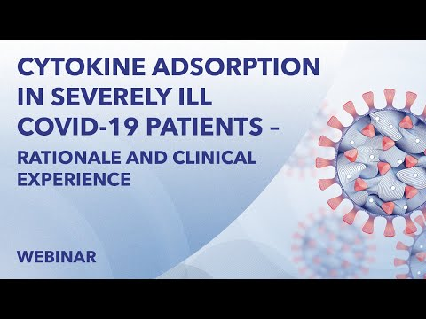 Webinar | Cytokine adsorption in severely ill COVID-19 patients | April 16th 2020
