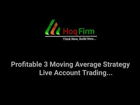 Profitable 3 Moving Avarage Real account Trading.