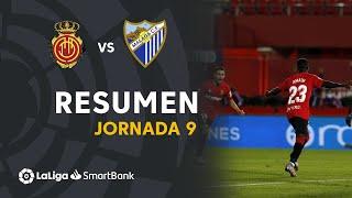 Resumen de RCD Mallorca vs Málaga CF (3-1)