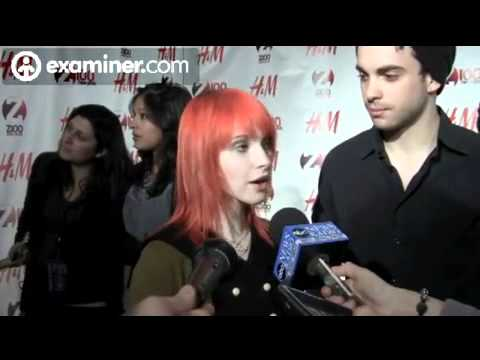 Hayley and Taylor interview at Z100's Jingle Ball 2010