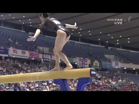 湯元さくら Sakura yumoto 2015 Japan 平均台 女子 体操 Women's balance beam