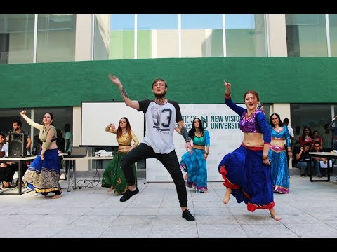Dil Laga Na / dance group Lakshmi /  Visiting in the New Vision University