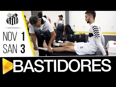 Novorizontino 1 x 3 Santos | BASTIDORES | Copa SP (08/01/18)