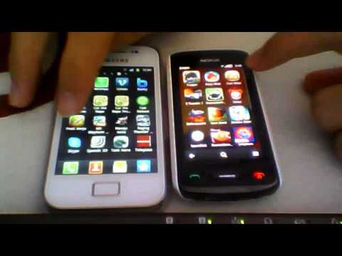 Symbian Belle vs Android