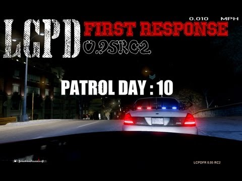 GTA IV LCPDFR - PATROL DAY 10 with commentary