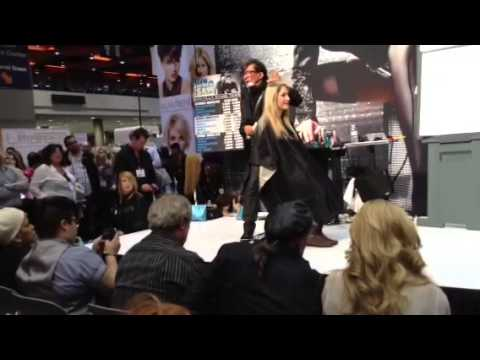 Sam villa part 1  ......live american hair show chicago march 2013