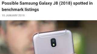 Samsung Galaxy J8 Coming Soon? Review Of Specs In BenchMark Tests! Cricket Wireless MetroPCS Boost