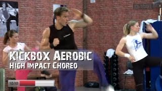 Kickbox Aerobic High Impact Cardio Workout