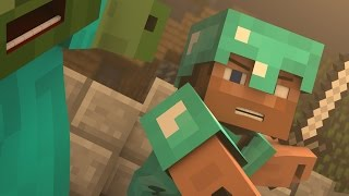 "♪ ""Evil Mobs"" - A Minecraft Parody of Animals By Maroon 5 (Music Video)"