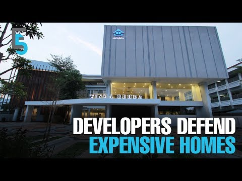 EVENING 5: Developers defend high home prices