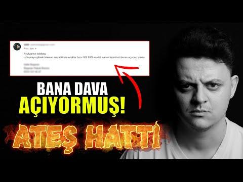 BEYEFENDİ BANA DAVA AÇMIŞ! & @Enes Batur - DANLA BİLİC KAVGASI   ATEŞ HATTI 🔥