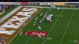 Texas Longhorns vs. Ohio State 2008 Tostitos Fiesta Bowl