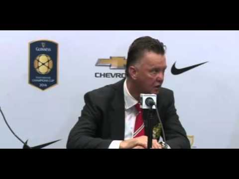 Manchester United's Louis van Gaal on beating Liverpool