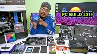 How to build a PC 2019. Budget, research, PC parts, assembling.