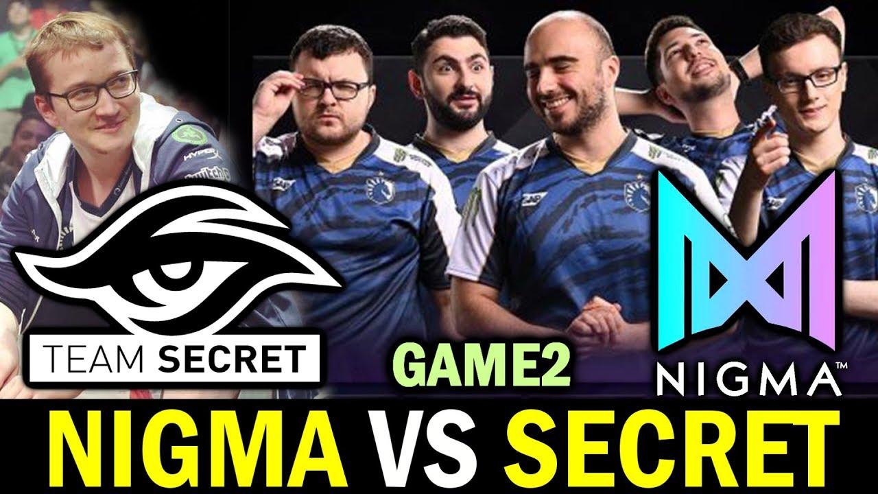 NIGMA vs SECRET [Game 2] Overwhelming Damage - LEIPZIG ...