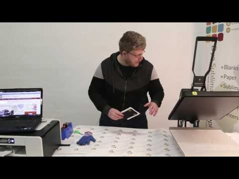 How to print a sublimation notebook with sublimation printing – Dye Sublimation Supplies