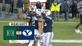 Hawaii vs. BYU Football Highlights (2018) | Stadium