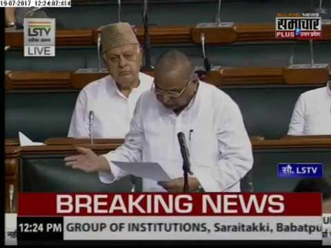 Live: Mulayam Singh Yadav statement over China in Lok Sabha