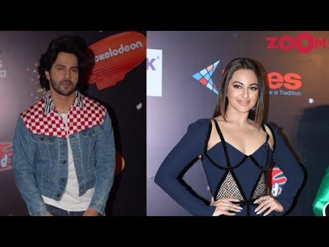 Varun Dhawan with denim jacket | Sonakshi Sinha with thigh-high slit gown & more | Style Today thumbnail