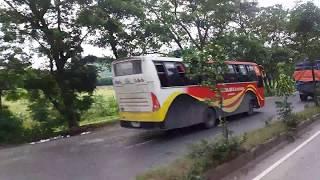 ঢাকা-কচুয়া সুরমা সুপার বাসের দুর্দান্ত গতি Dhaka-Chittagong Highway by Surma Super
