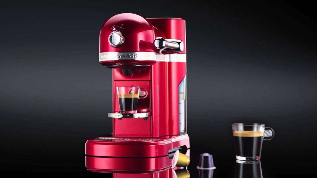 Kitchenaid 174 Nespresso 174 Coffee Maker Youtube