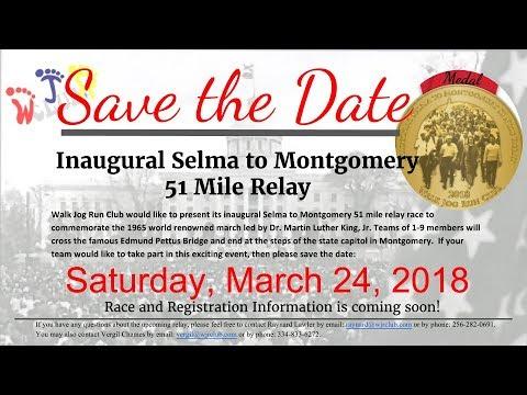 SELMA TO MONTGOMERY 51 MILE RELAY 30 SEC PROMO