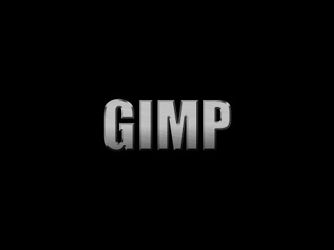 How to Create Metal Text Effect in GIMP | Photoshop Alternative | #69